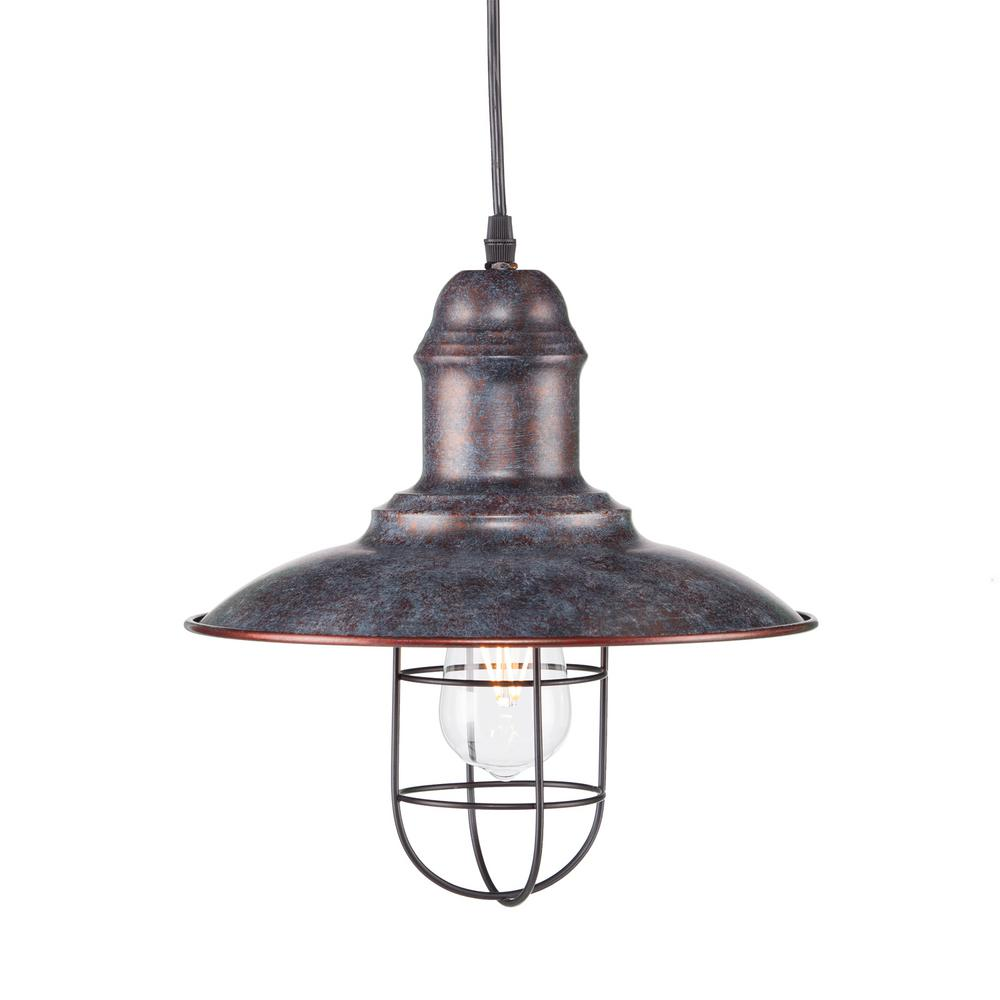 Armand 1-Light Warm Multicolor Pendant Lamp