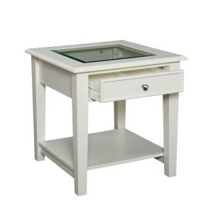Southern Enterprises Kaston Offwhite End TableHD888248 The Home