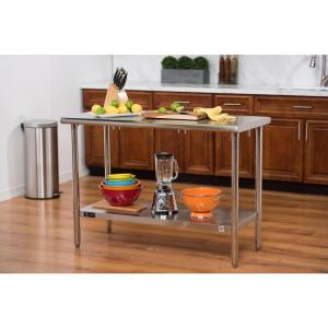 Nsf Stainless Steel Table Tls 0201 The Home Depot