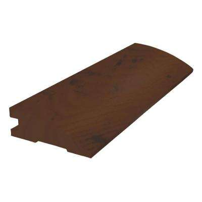 Suede 3/8 in. Thick x 2 in. Wide x 78 in. Length Flush Reducer Molding