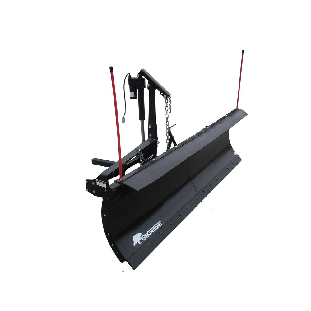 snowbear pro shovel 82 in x 19 in snow plow for 2 in front