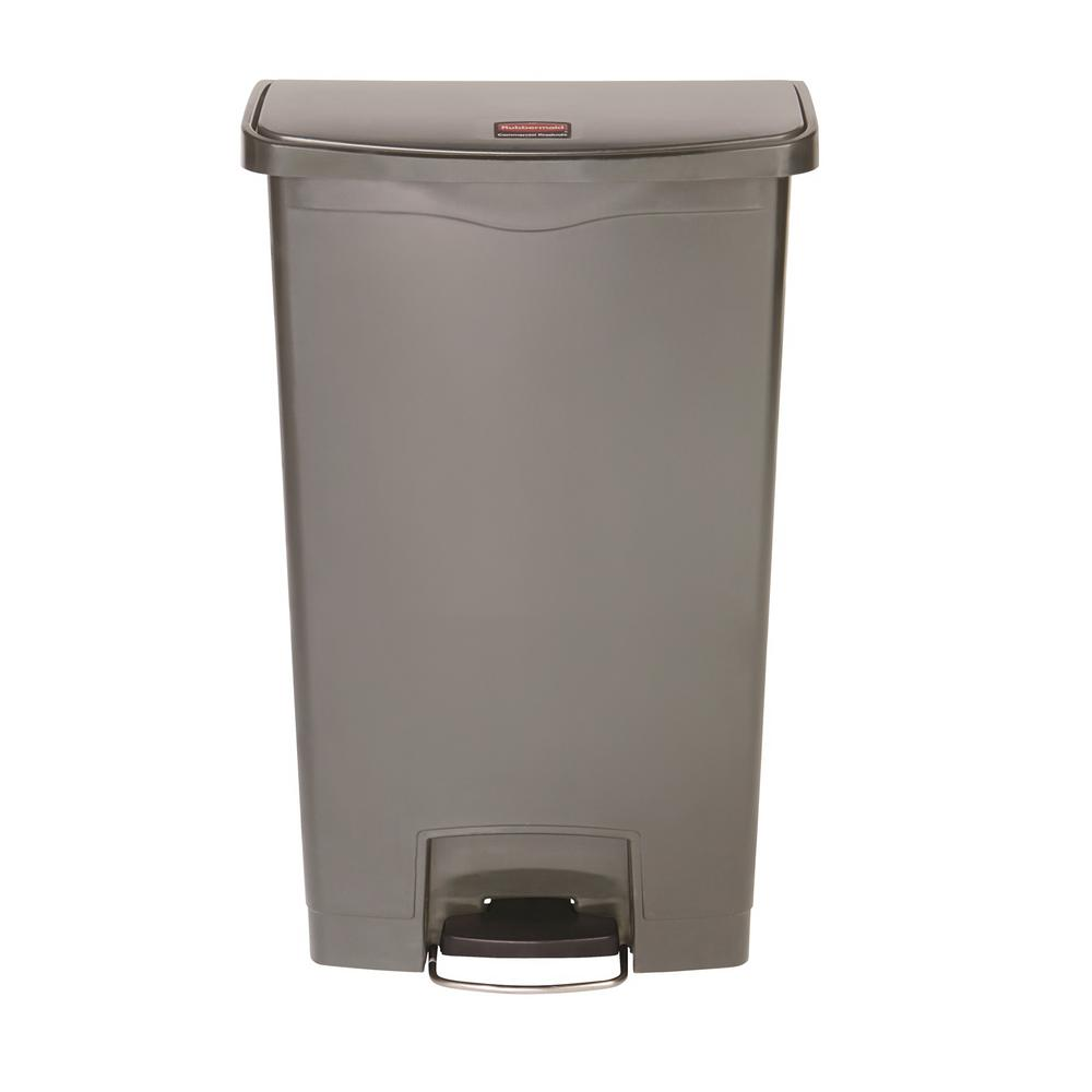 Rubbermaid Commercial Products Brute 50 Gal Grey Rollout