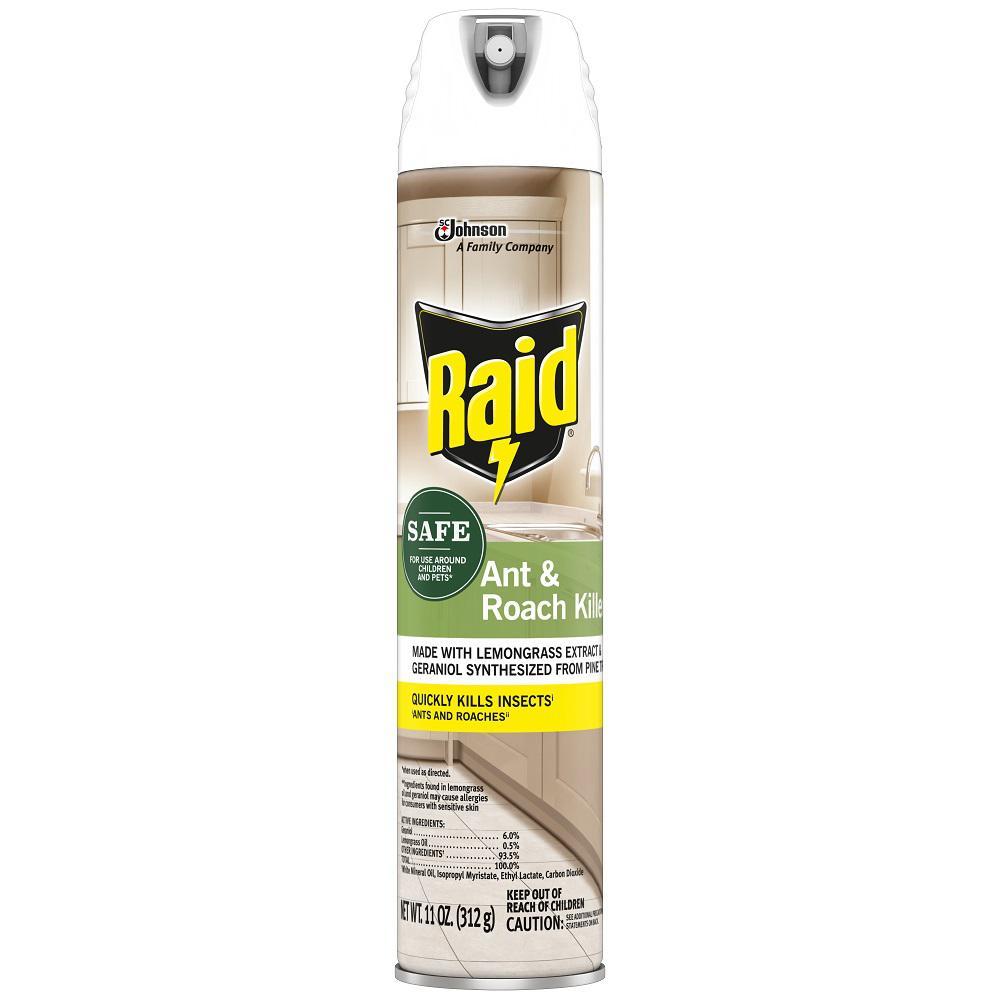 Raid 11 oz. Ant and Roach Killer Spray with Essential Oils