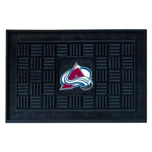 FANMATS Colorado Avalanche 18 inch x 30 inch Door Mat by FANMATS
