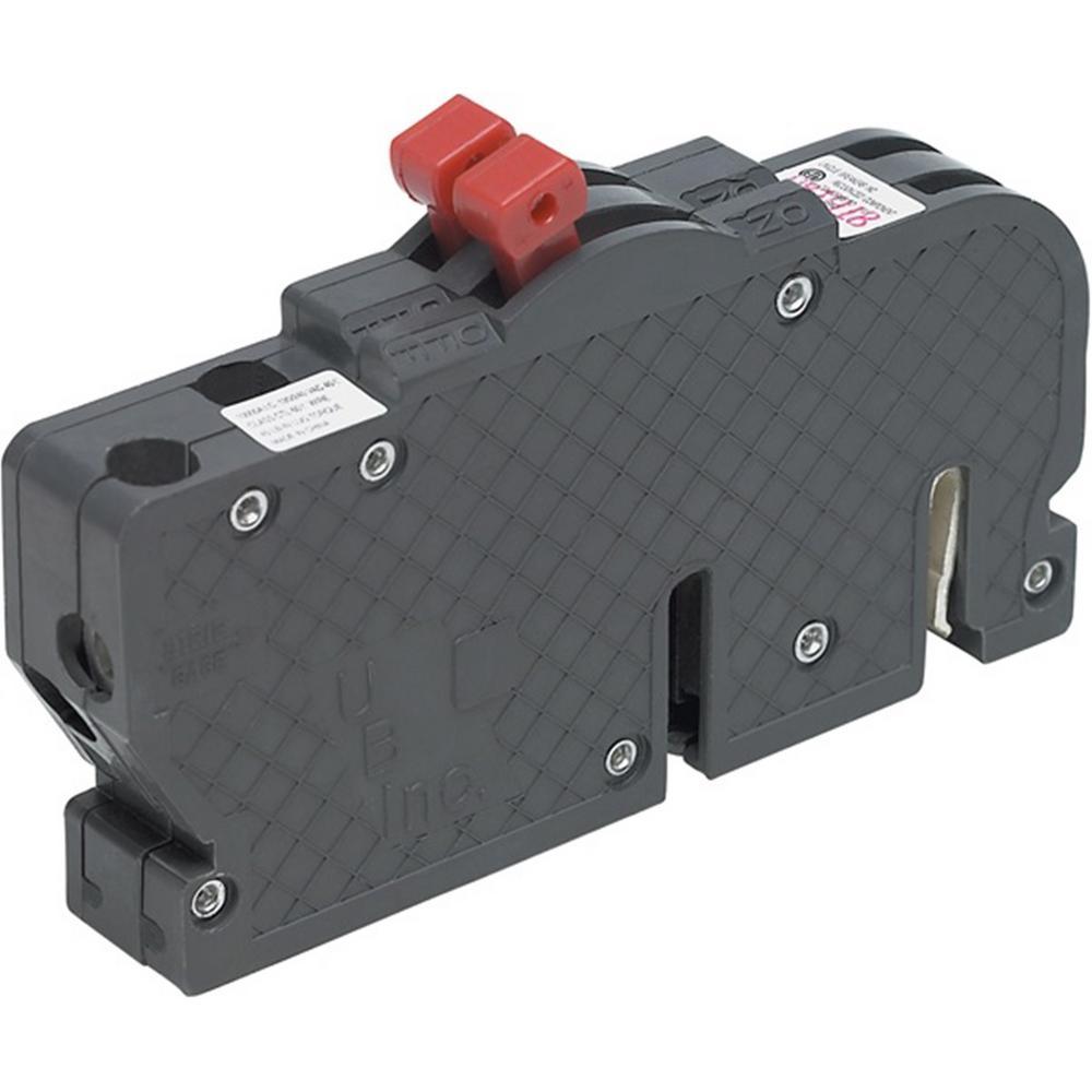 New UBIZ Thin 20 Amp/20 Amp 1-1/2 in. 1-Pole Zinsco Twin Replacement Circuit Breaker
