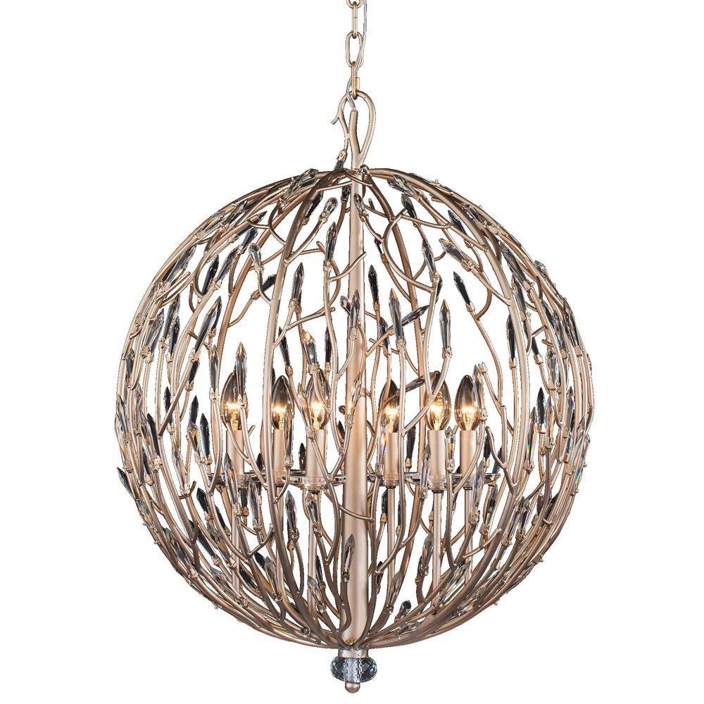 Bask ...  sc 1 st  The Home Depot & Globe - Gold - Pendant Lights - Lighting - The Home Depot azcodes.com