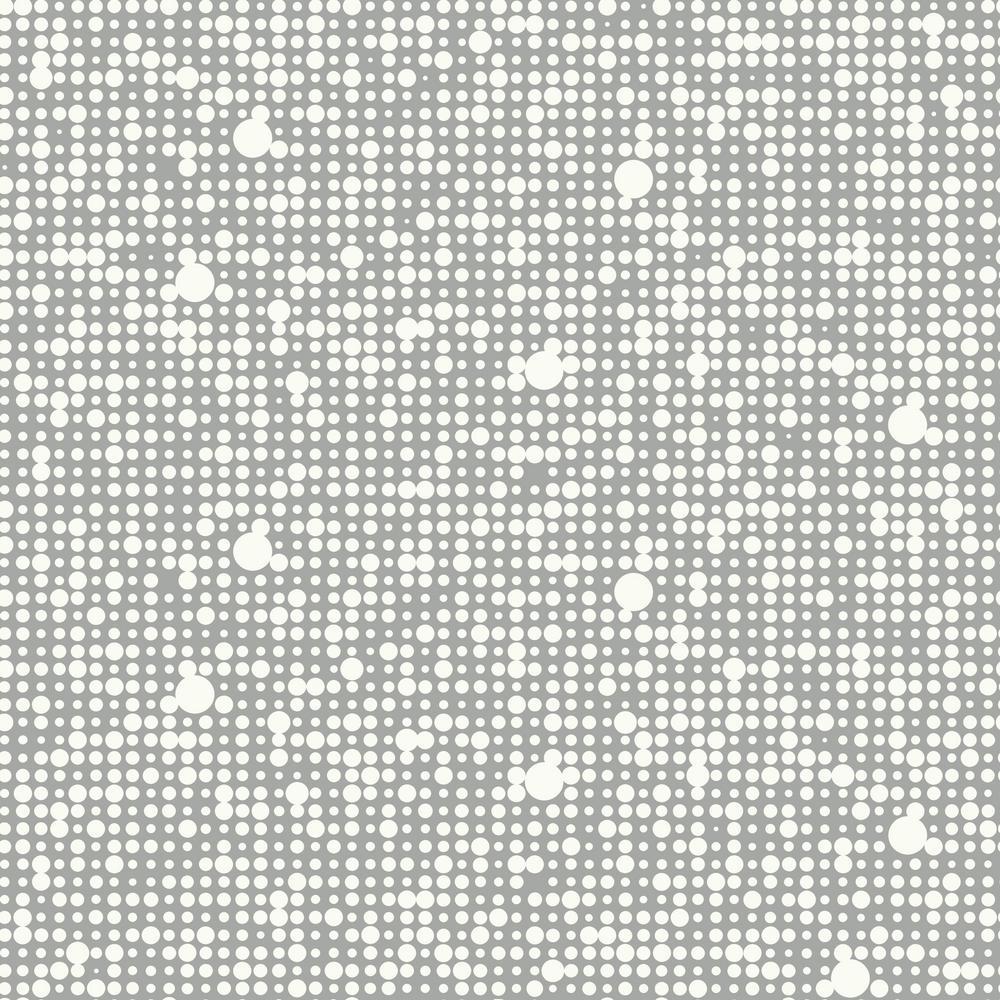 Polka Dot Vinyl Peelable Wallpaper (Covers 28.18 sq. ft.)
