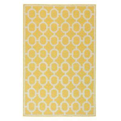 Espana Yellow 4 ft. x 6 ft. Area Rug