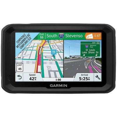 dzl 580 LMT-S 5 in. GPS Navigator with Bluetooth and Free Lifetime Maps and Traffic Updates
