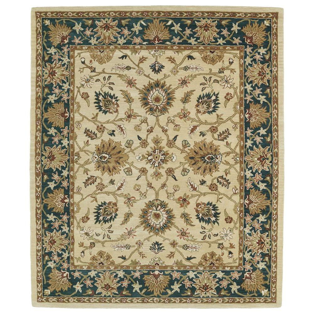 Kaleen Taj Gold 8 ft. x 11 ft. Area Rug