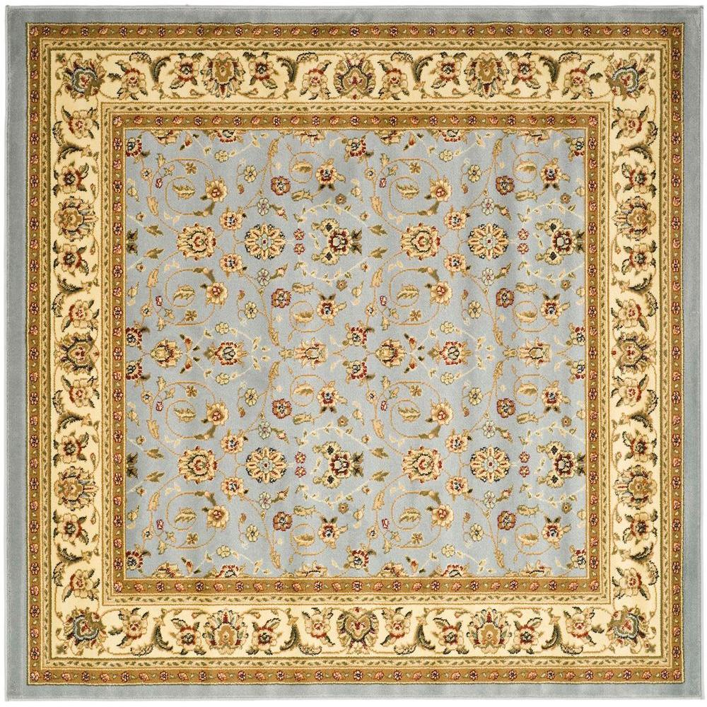 Safavieh Lyndhurst Light Blue Ivory 10 Ft X Square Area Rug