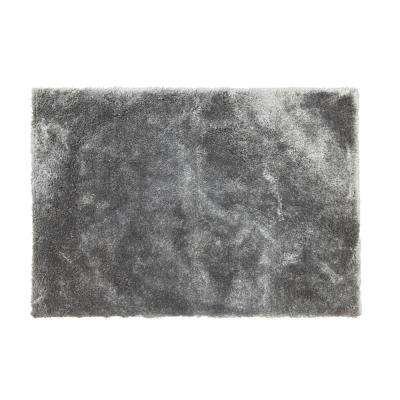 Weather Gray 5 ft. x 6.5 ft. Shag Area Rug