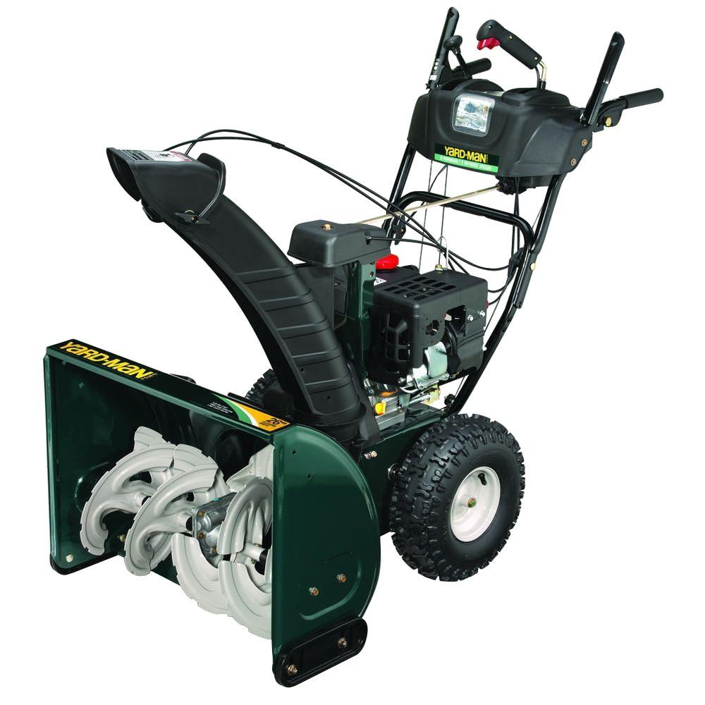 Yard-Man 26 in. 2-Stage Electric Start Gas Snow Blower