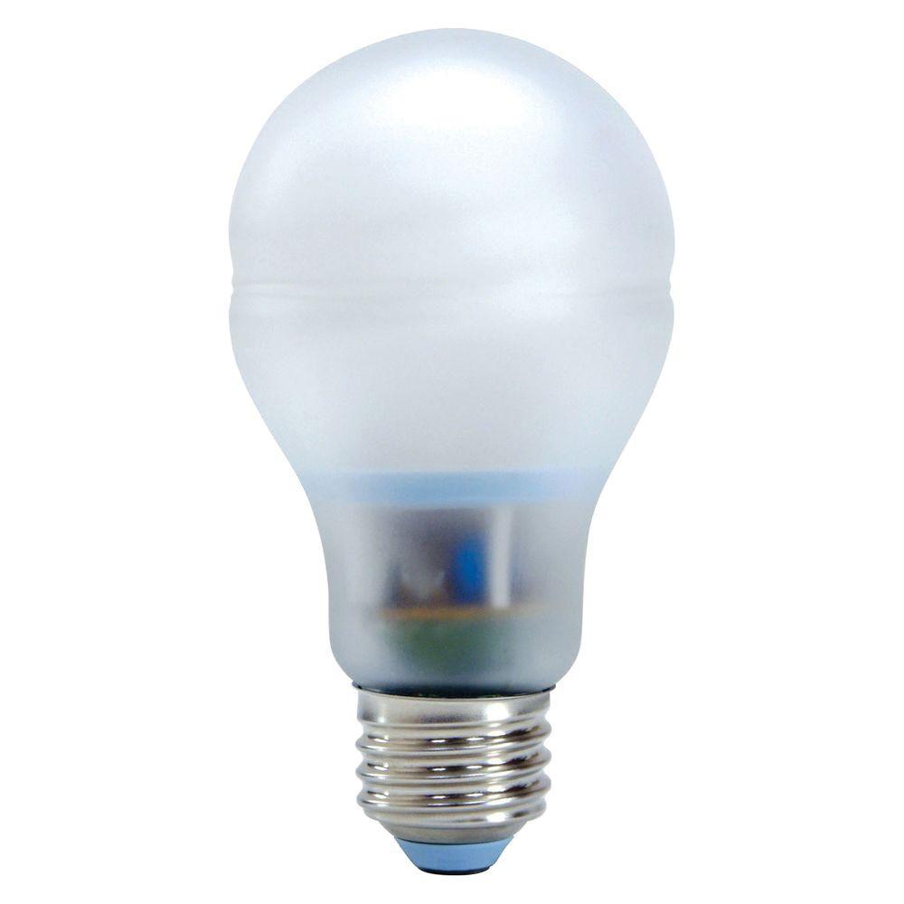 GE 60W Equivalent Reveal (2500K) A19 CFL Light Bulb (2-Pack)