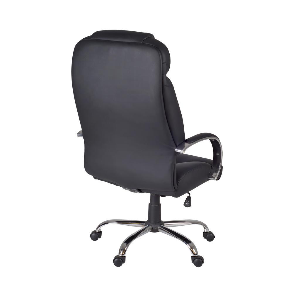 Enjoyable Goliath Black Big And Tall Swivel Chair Interior Design Ideas Lukepblogthenellocom
