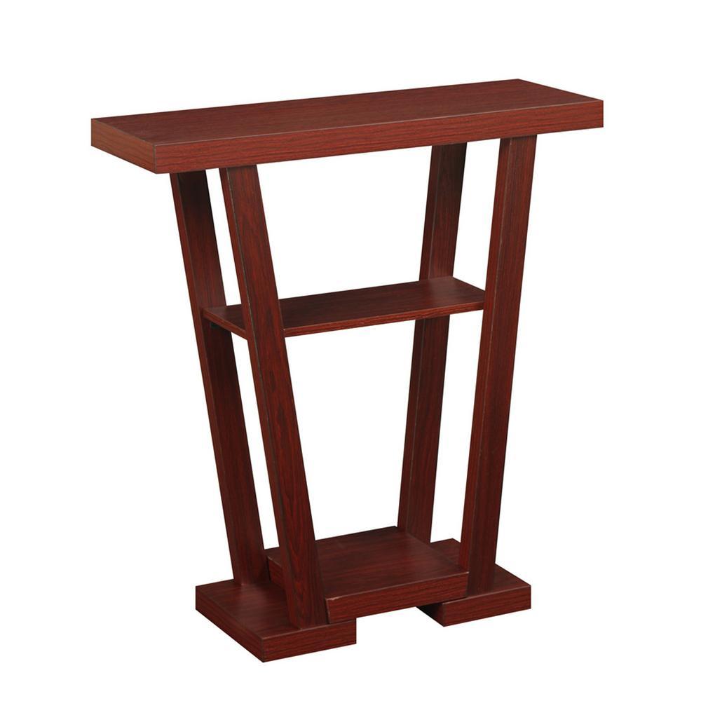 Newport V Mahogany Console Table