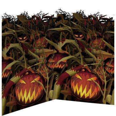 48 in. Halloween Field of Screams Scene Setters Room Roll