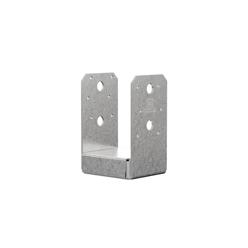 Simpson Strong-Tie Z-MAX 4 in  x 4 in  16-Gauge Galvanized Adjustable Post  Base