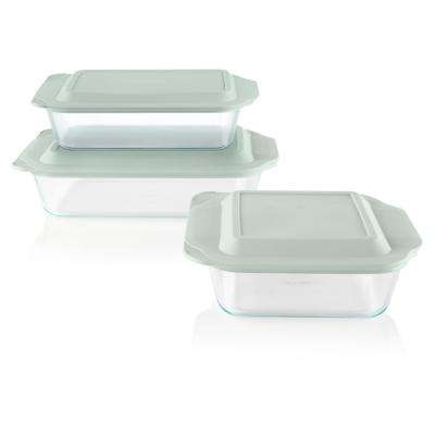 6-Piece Glass Baker Set