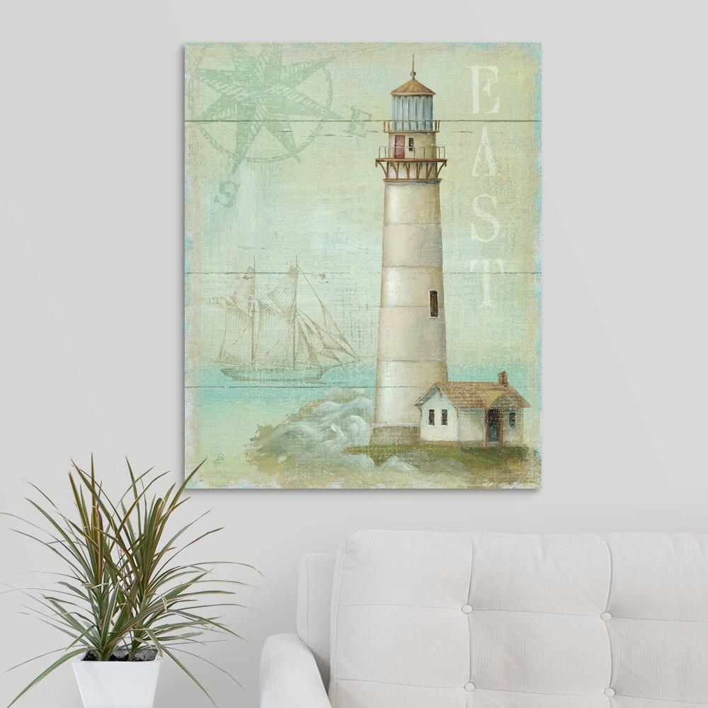 """East Coastal Light"" by Daphne Brissonnet Canvas Wall Art"