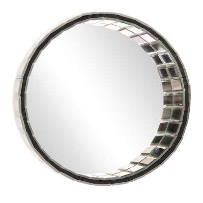 Prism Round Decorative Mirror