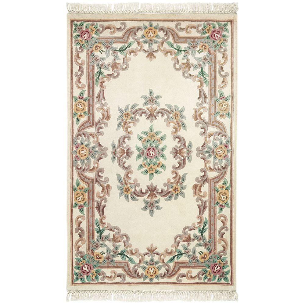 Home decorators collection imperial ivory 1 ft 9 in x 2 for Home decorators chenille rug
