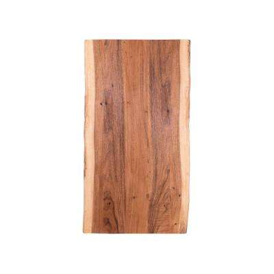 6 ft. L x 3 ft. 2 in. D x 1.5 in. T Butcher Block Countertop in Oiled Acacia