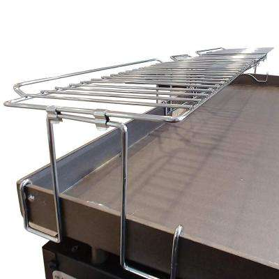 Premium Stainless Steel 36 in. Warming Rack for Griddles Clips on for Sturdy Durable Use