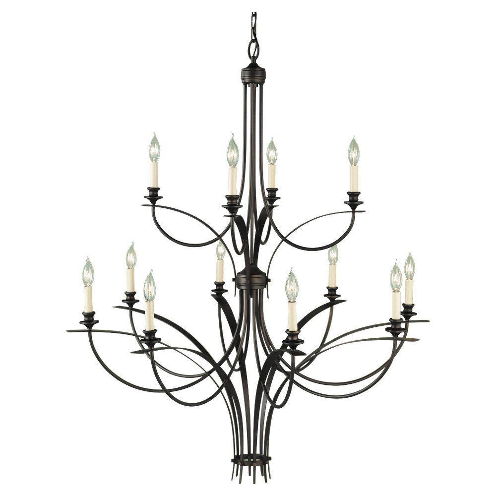 feiss boulevard 12-light oil-rubbed bronze multi-tier chandelier-f1891  8 4orb
