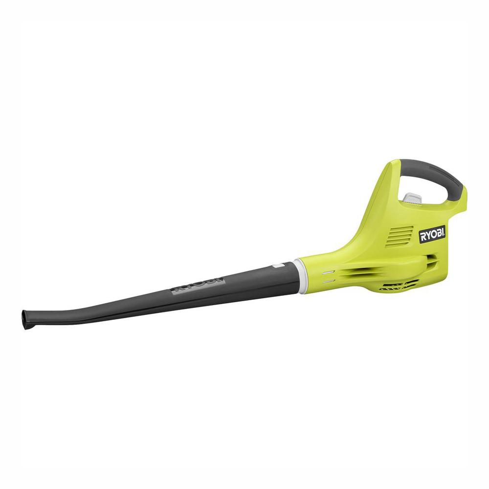 RYOBI ONE+ 120 MPH 18-Volt Lithium-Ion Cordless Battery Hard Surface Leaf Blower/Sweeper (Tool Only)