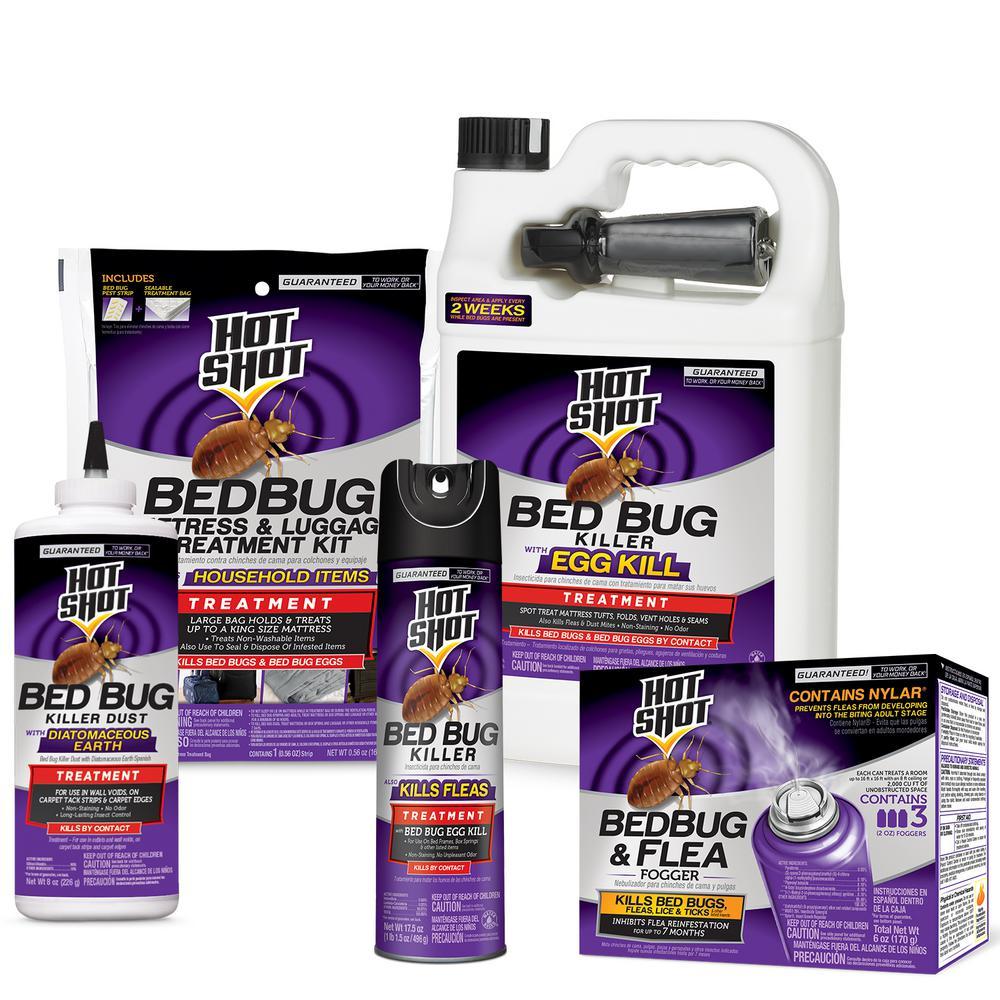 hot shot bed bug treatment bundle pack hg 96295 the home depothot shot bed bug treatment bundle pack