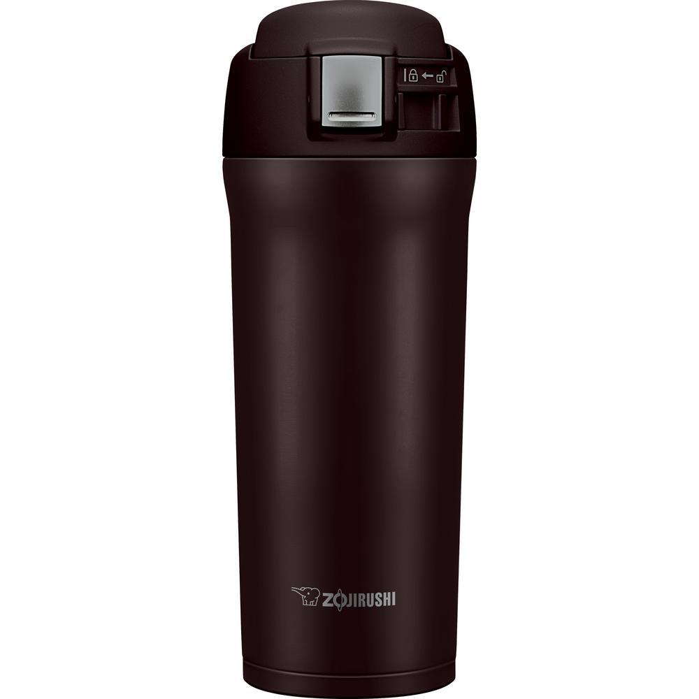 Vacuum Insulated 16 oz. Dark Cocoa Travel Mug