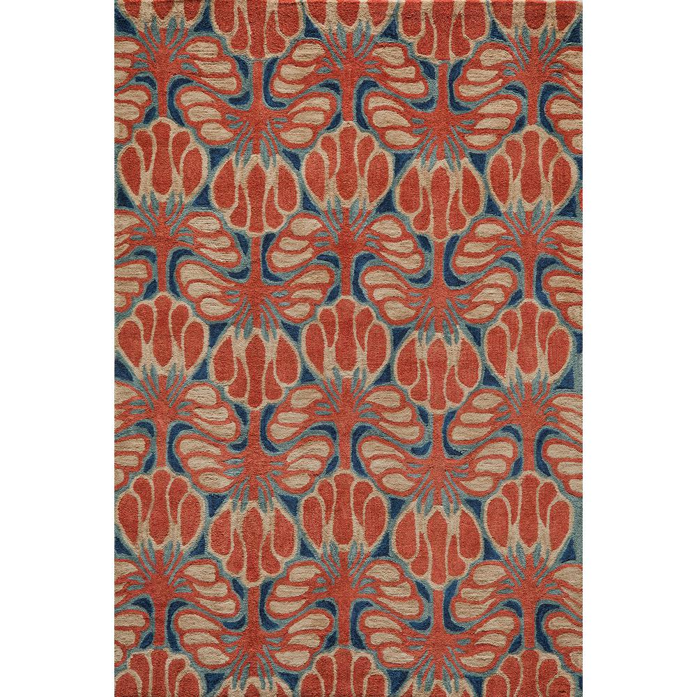 Rio Red 8 ft. x 10 ft. Indoor Area Rug