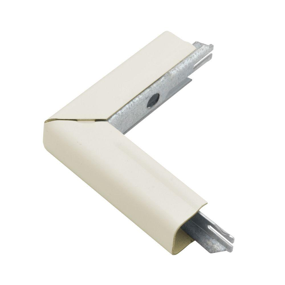 Legrand Wiremold 500 Series Metal Surface Raceway 90 Outside Elbow Ivory B 8 The Home Depot