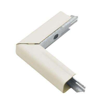 500 Series Metal Surface Raceway 90° Outside Elbow, Ivory