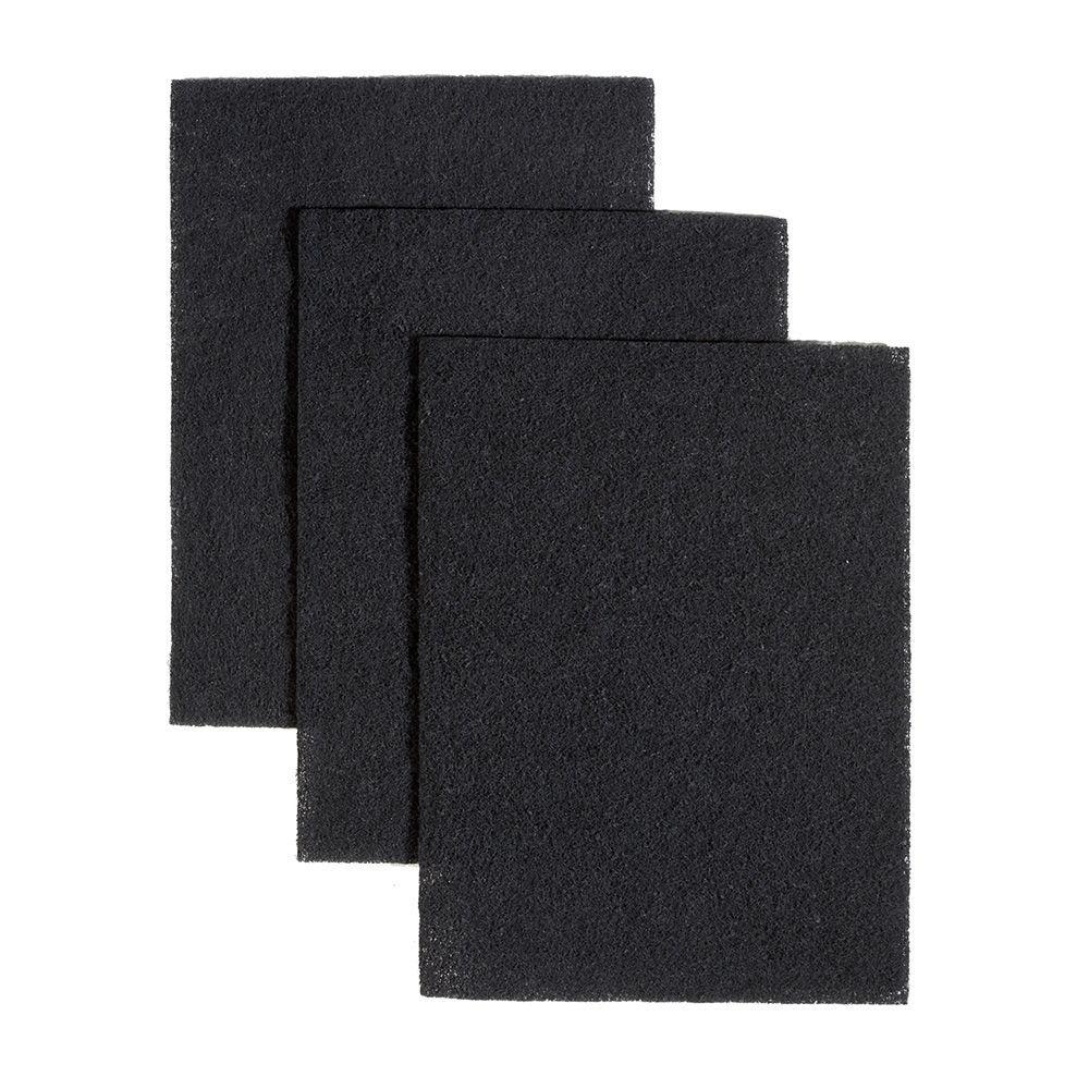 43000 Series Ductless Range Hood Charcoal Filters (3 each)
