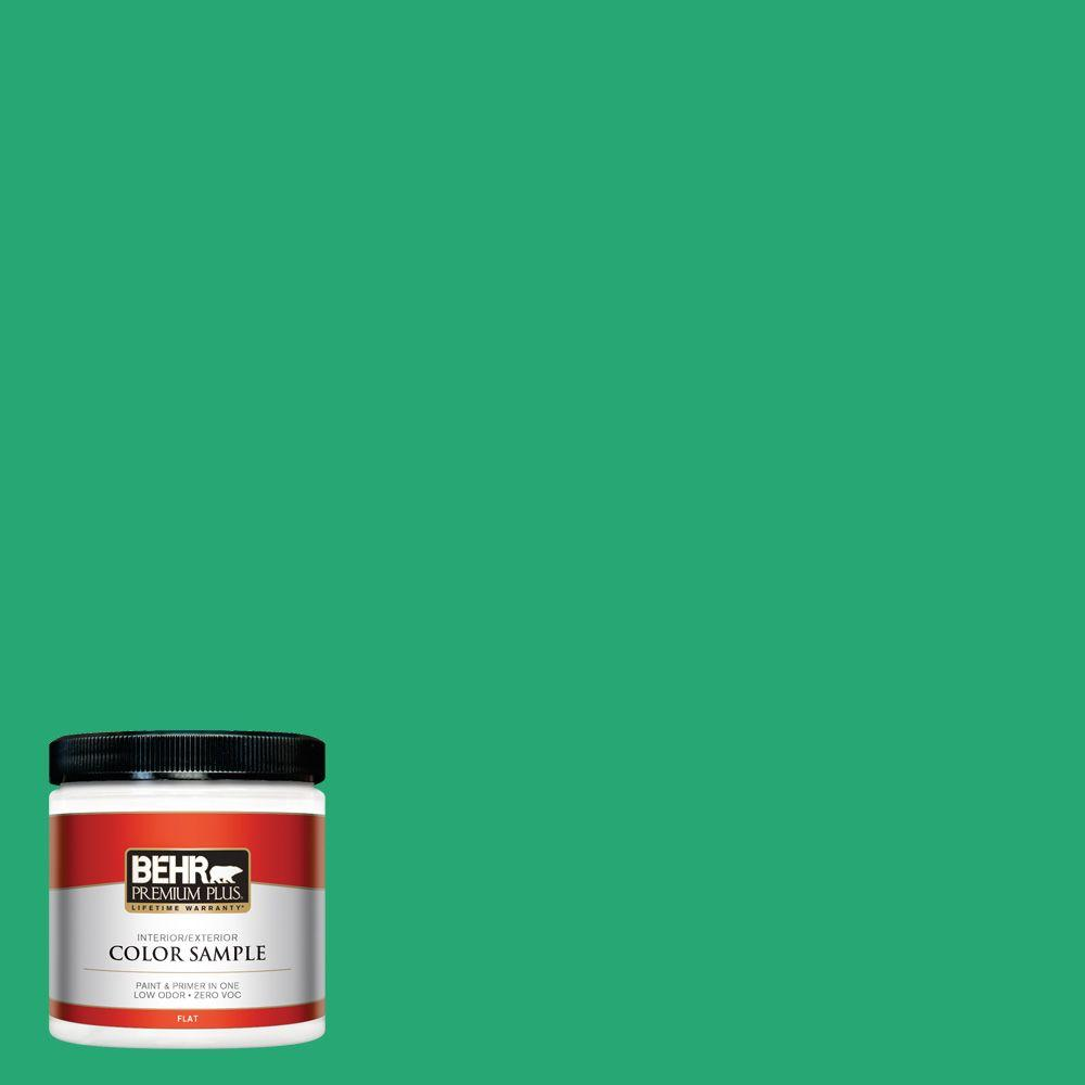 BEHR Premium Plus 8 oz. #470B-5 Garden Medley Interior/Exterior Paint Sample