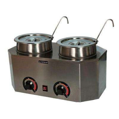 Pro-Style Dual Ladle Warmer