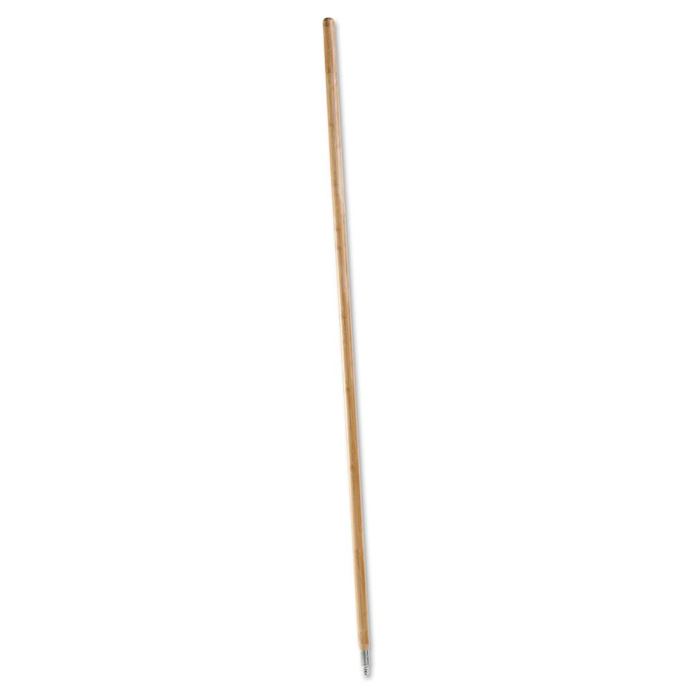 Rubbermaid Commercial Lacquered-Wood Threaded-Tip Broom//Sweep Handle 1 5//8 dia x