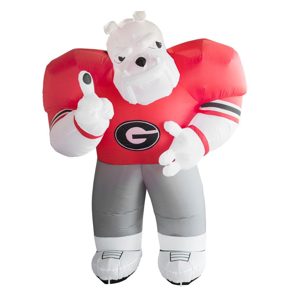 7 Ft Georgia Bulldogs Inflatable Mascot 496845 The Home