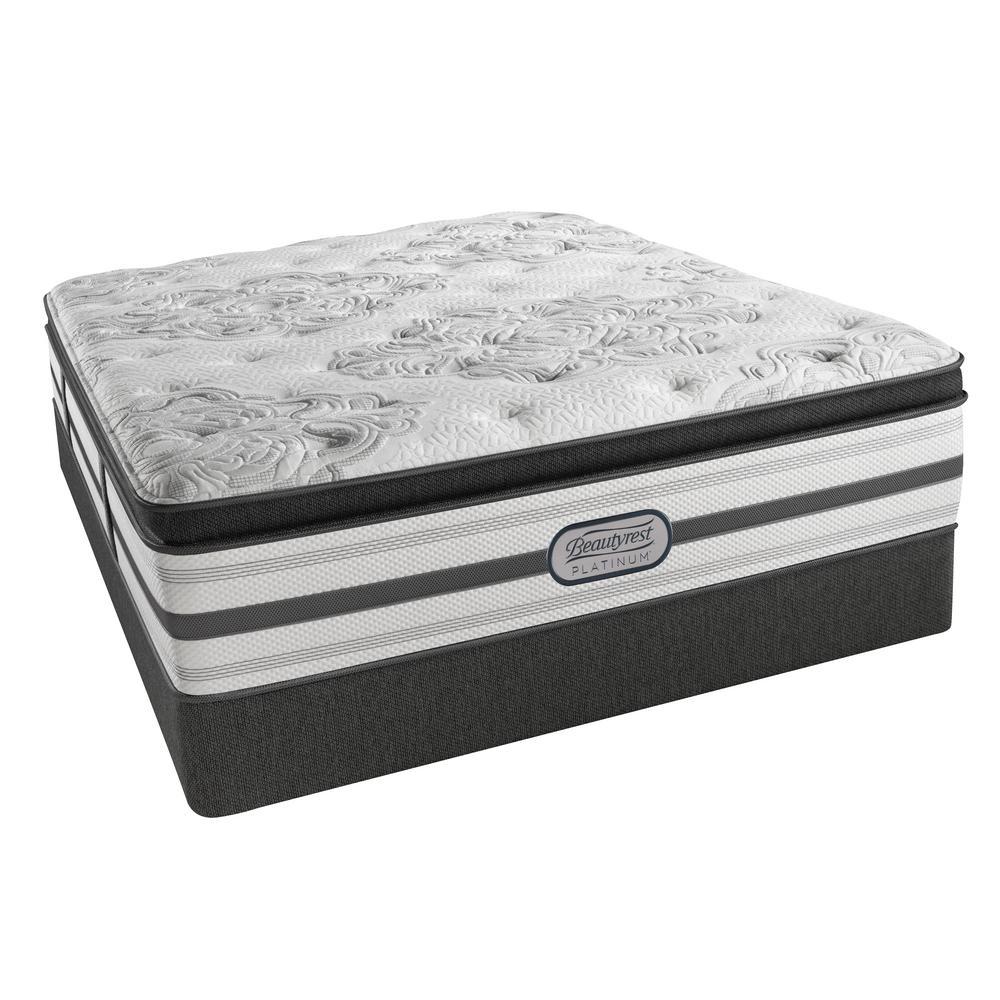 South Haven California King-Size Plush Pillow Top Mattress Set