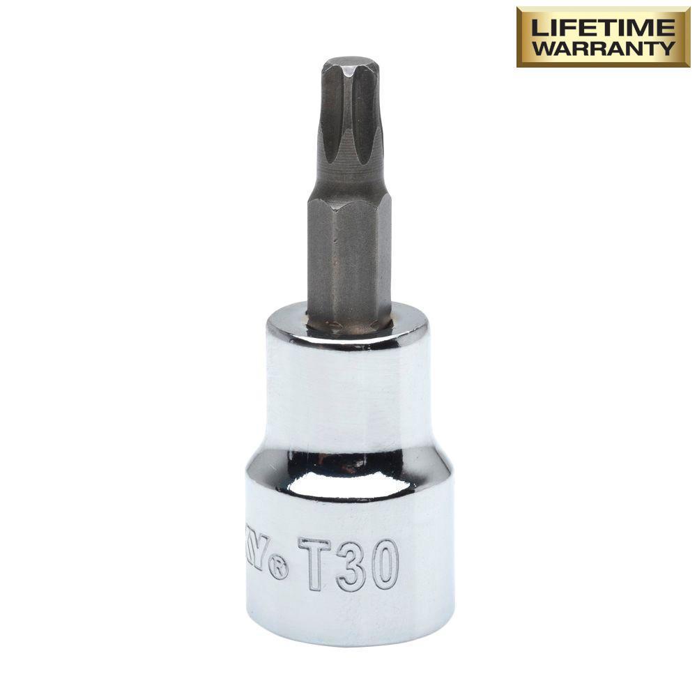 T30 Torx 3/8 in. Drive Bit Socket