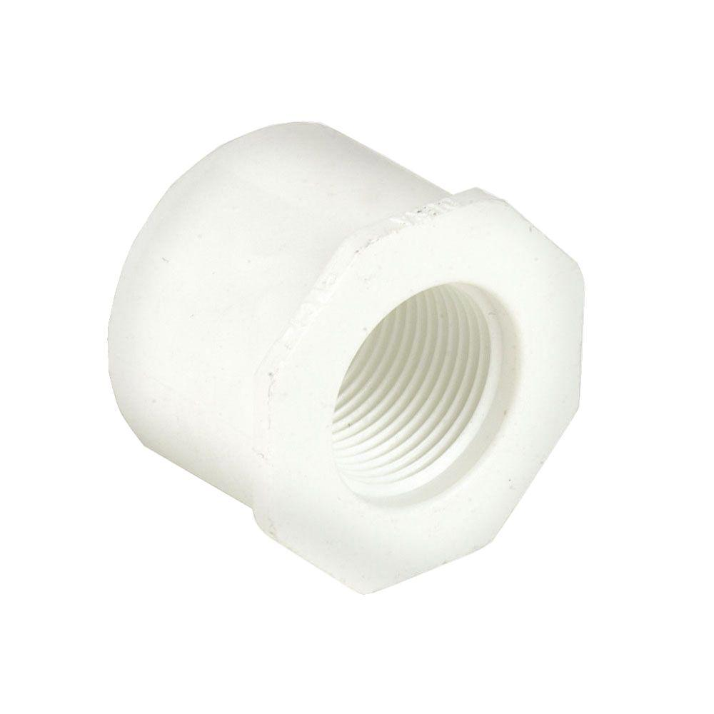 4 in. x 2 in. Schedule 40 PVC Reducer Bushing SPGxFPT