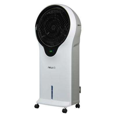 500 CFM 3-Speed Portable Evaporative Air Cooler  (Swamp Cooler) with Remote for 250 sq. ft.