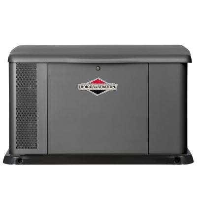 20,000-Watt Automatic Air Cooled Standby Generator with 400 Amp/Dual 200 Amp Transfer Switch