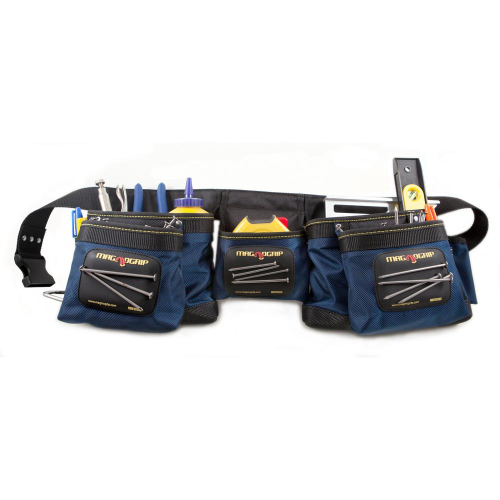 MagnoGrip 12-Pocket Magnetic Carpenter's Tool Belt