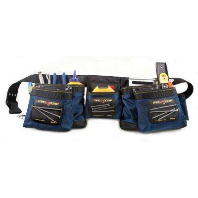 12-Pocket Magnetic Carpenter's Tool Belt