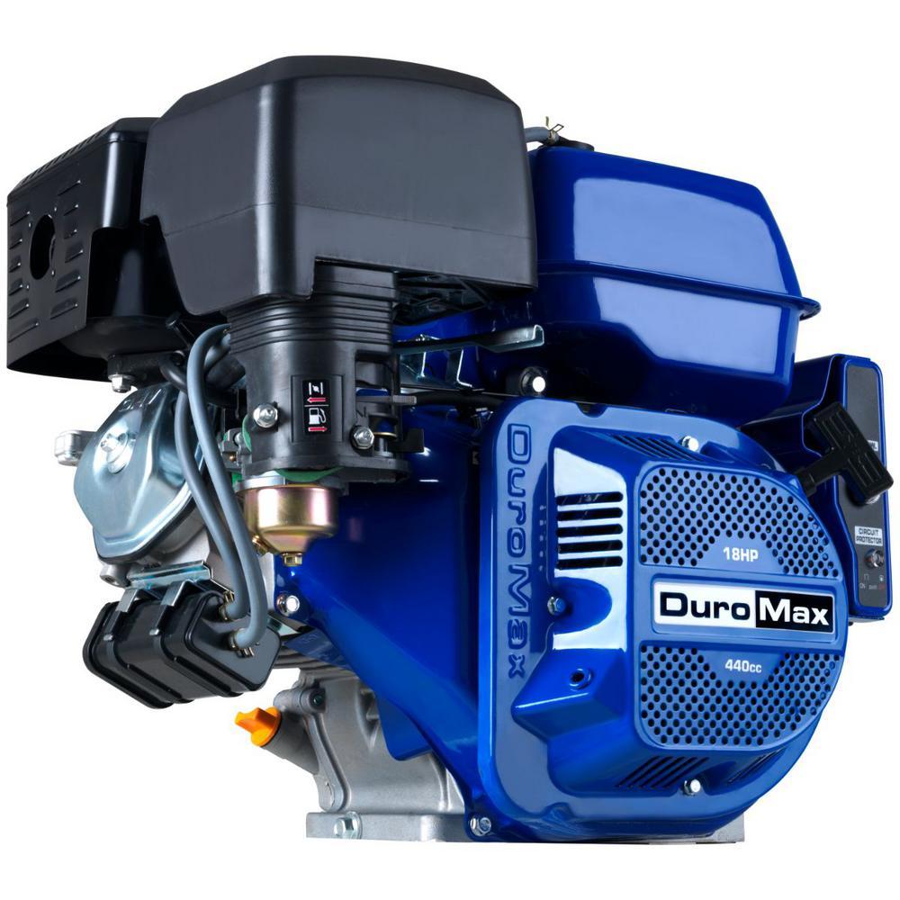 18 HP 440 cc 1 in. Shaft 4-Stroke Overhead Valve Portable Electric Start Engine