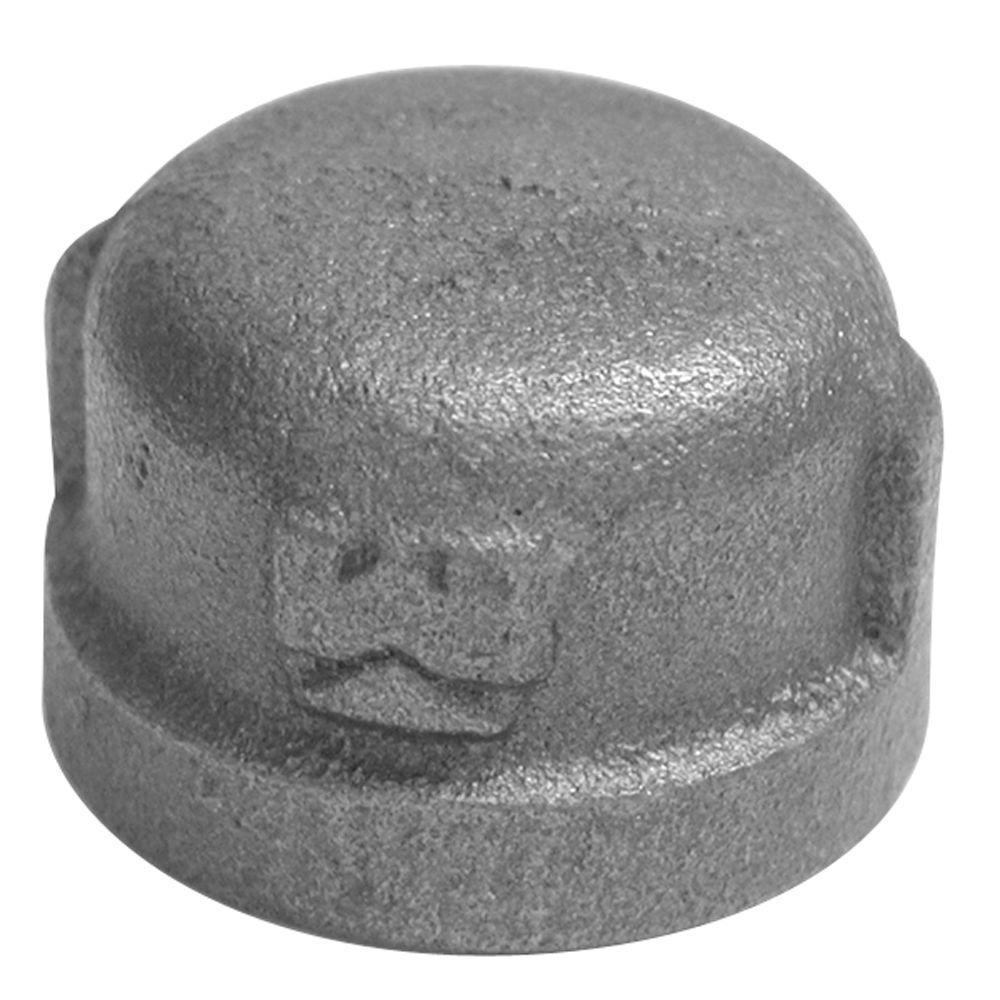 1/2 in. Galvanized Malleable Iron Cap