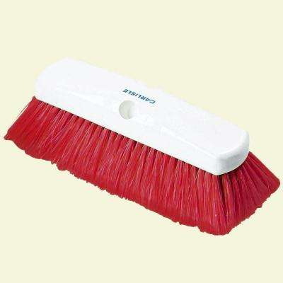 10 in. Flo-Thru Nylex Red Wall Brush (Case of 12)